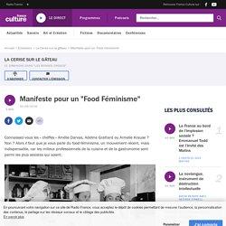 """Manifeste pour un """"Food Féminisme"""""""
