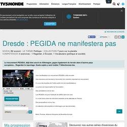 Dresde : PEGIDA ne manifestera pas