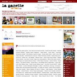 MANIFESTEZ-VOUS !