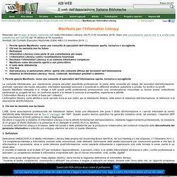 AIB-WEB - Manifesto per l'Information Literacy