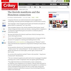 The Breivik manifesto and the Monckton connection