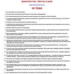 Manifiesto Cluetrain en Español