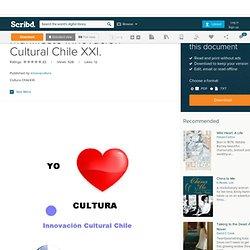 Manifiesto Innovación Cultural Chile XXI.