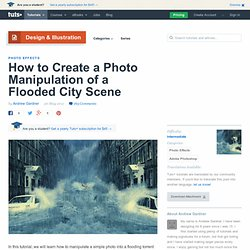 How to Create a Photo Manipulation of a Flooded City Scene | Psd
