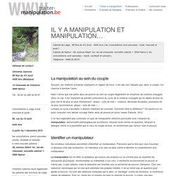 Manipulation affective ou mentale, harcèlement moral : comment s'en sortir ?