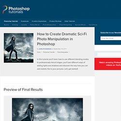 Dramatic Sci-Fi Photomanipulation