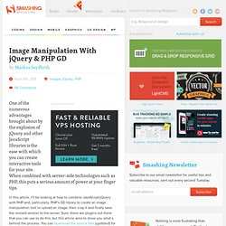 Image Manipulation With jQuery & PHP GD