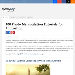 28 Incredible Photoshop Image Manipulation Techniques and Tutorials