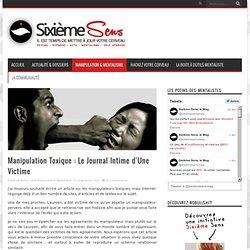 Manipulation Toxique : Le Journal Intime d'Une Victime