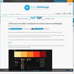 7 sites pour vous aider à manipuler les couleurs dans vos webdesigns