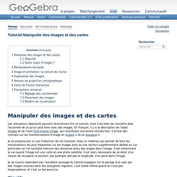 Tutoriel:Manipuler des images et des cartes