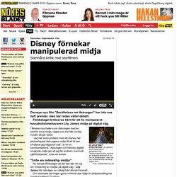 """Disney förnekar manipulerad midja i """"Askungen"""""""