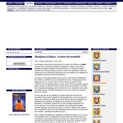 5 Manipura Chakra (Centre du nombril) - Les Chakras