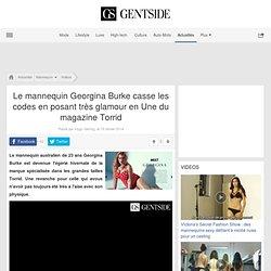 Le mannequin Georgina Burke casse les codes en posant très glamour en Une du magazine Torrid