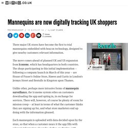 Mannequins are now digitally tracking UK shoppers