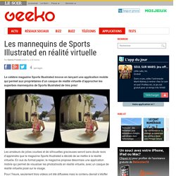 Les mannequins de Sports Illustrated en réalité virtuelle