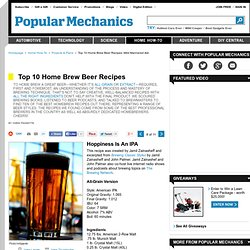 Mild Mannered Ale - Beer Recipes