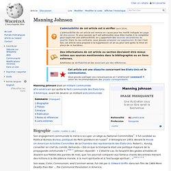 Manning Johnson