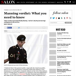 Manning verdict: What you need to know