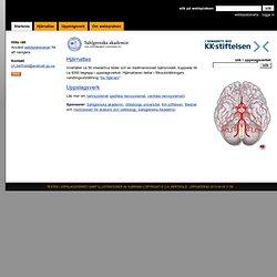 Människans nervsystem: Startsida