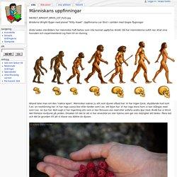 Människans uppfinningar