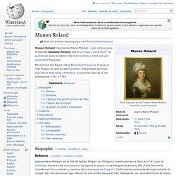 Manon Roland