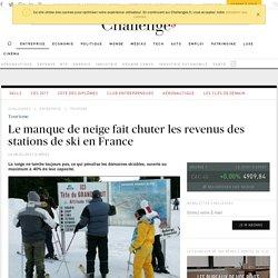Le manque de neige fait chuter les revenus des stations de ski en France
