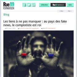 Les liens à ne pas manquer : au pays des fake news, le complotiste est roi
