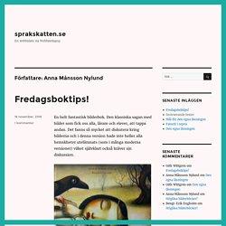 Anna Månsson Nylund – sprakskatten.se