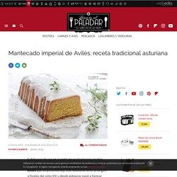 Mantecado imperial de Avilés. Receta de cocina fácil, sencilla y deliciosa