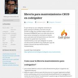 Blog Luis Rodriguez – Desarrollo Web / Front End / Back End