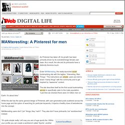MANteresting: A Pinterest for men