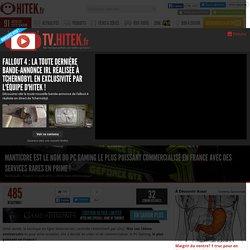 Manticore est le nom du PC Gaming le plus puissant commercialisé en France avec des services rares en prime !
