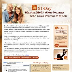 Mantra Meditation Journey – Home