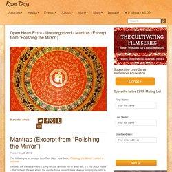 Mantras - Ram Dass