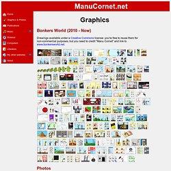 Manu Cornet's website