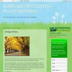 MANUAIS DE CULTIVO - PLANTAMUNDO: Ginkgo biloba