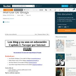 Manual de Blogs | Scribd