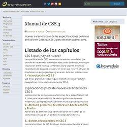 Manual de CSS 3