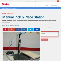 Manual Pick & Place Station