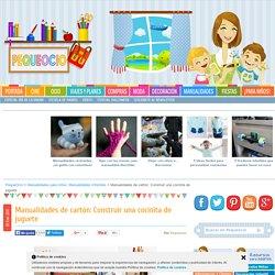 Manualidades de cartón: Construir una cocinita de juguete - PequeOcio