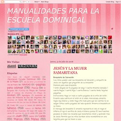 MANUALIDADES PARA LA ESCUELA DOMINICAL: julio 2008