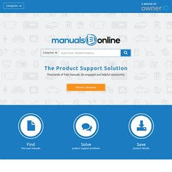 TheUserManualSite.com - We found it so you don't have to!