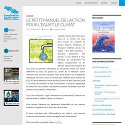 Le petit MANUEL de l'ACTION pour l'Eau et le CLIMAT