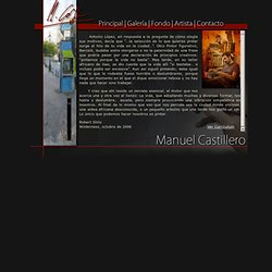 Manuel Castillero - Página Principal