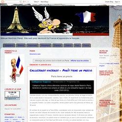 Manuel · Français Langue Étrangère: Paris