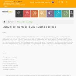 Manuel de montage - Créer sa cuisine