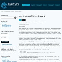 Le manuel des thèmes Drupal 6