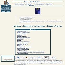 Manuel utilisateur - Les outils de calibre