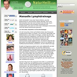 Manuelle Lymphdrainage